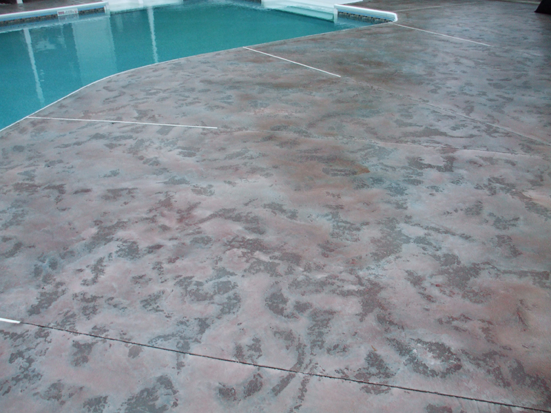 Decorative Concrete Sykesville, Pool Decks Baltimore, Maryland | New Aged Concrete Coatings