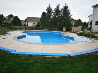 Pool Decks Baltimore, Maryland| New Aged Concrete Coatings