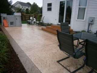 Stamped Concrete Sykesville, Maryland | New Aged Concrete Coatings