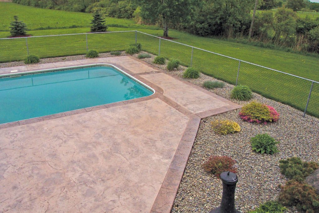 Pool Decks Baltimore, Maryland | New Aged Concrete Coatings